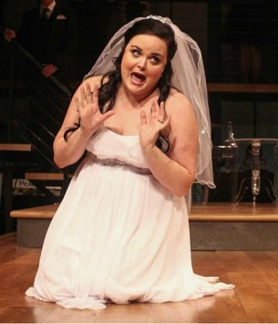 Jessica Miesel as Amy, who's not getting married today! Photo: BreeAnne Clowdus