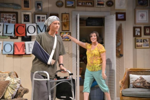 Julie Jesneck as Jess and Wendy Melkonian in the Alliance Theatre staging of Ugly Lies the Bone. Photo: Greg Mooney