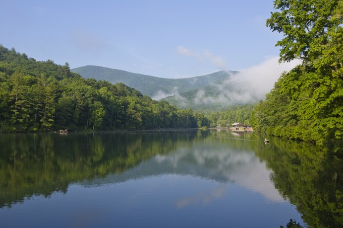 Vogel State Park , at the base of Blood Mountain in north-central Georgia's Blairsville, has been open since 1931. Photos courtesy of the Georgia Department of Natural Resources