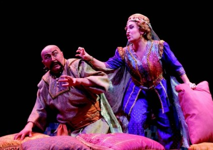 """Another scene from 2006's """"Seraglio."""" Photo: Tim Wilkerson"""