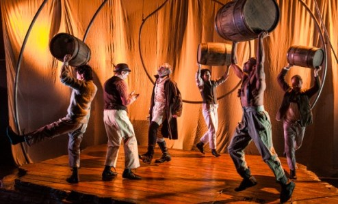 "The company of Lookingglass Theatre's ""Moby Dick."""