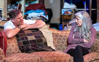 """The family relationships are as messy as the family home in """"Appropriate,"""" with Kevin Stillwell and Jan Wikstrom. Photo: Chris Bartelski"""