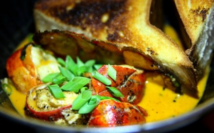 The chili lobster with Texas toast at American Cut.