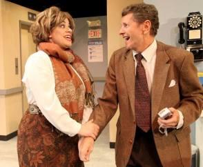 Gina Rickicki, Doyle Reynolds. Photo: Stage Door Players