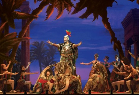 "The company performs the opera ""Hannibal."" Photo: Matthew Murphy"