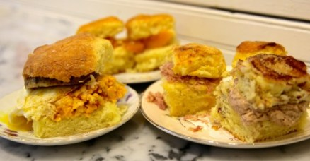 A sample of the biscuits you'll find at Callie's in Virginia-Highland.