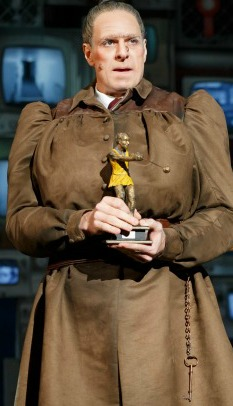 Dan Chameroy as Miss Trunchbull. Photo: Joan Marcus