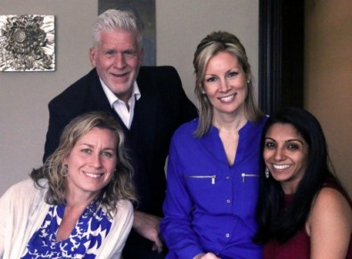The founders (from left): Shanna Jackson, Guy Riekeman, Rachel Marynowski and Anjili Hinman.