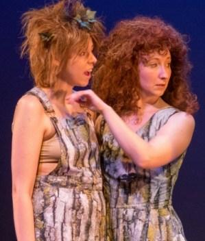 Ellie Stryon (left) and Jenni McCarthy. Photo: Brian Wallenberg