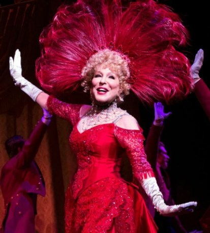 "Tony nominee Bette Midler in ""Hello, Dolly!"