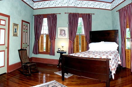 The emphasis is on comfort at the Brady Inn Bed and Breakfast, where its seven rooms/suites come with private bathrooms and custom-made mattresses. Photo: Brady Inn Bed and Breakfast