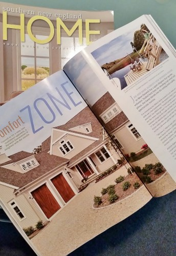 As seen in the 2015 Southern New England Home Magazine.