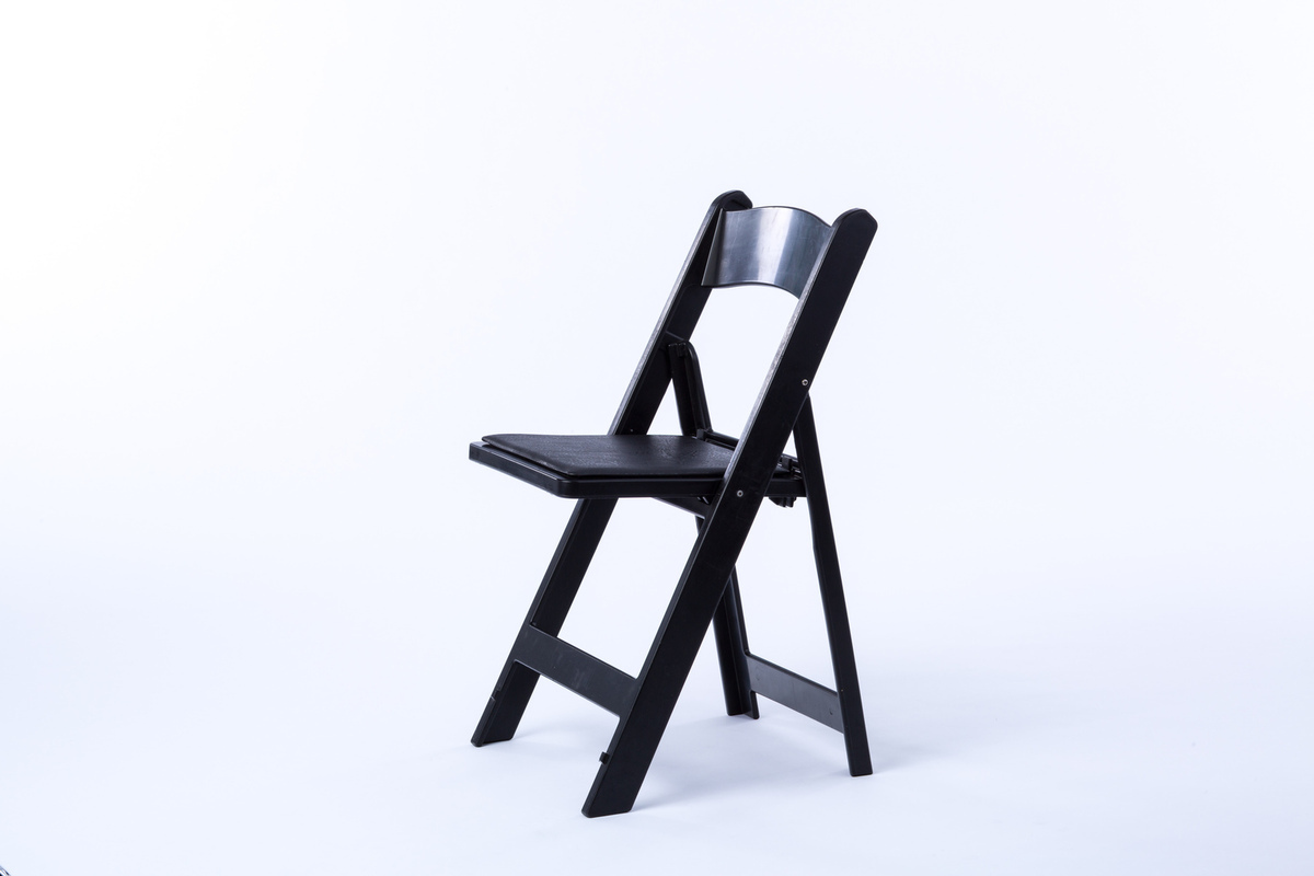 black resin chairs linen dining chair rental encore events rentals