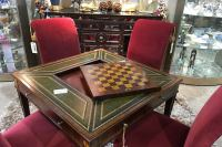 Luxury Table and Chairs with Chess Set - 3 - Encore ...