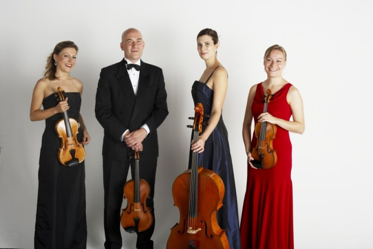 Crystal Palace String Quartet, wedding attire