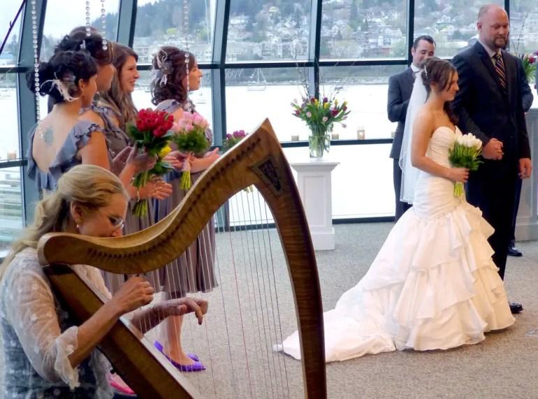 Wedding Ceremony Music Harpist