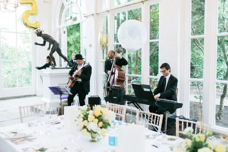 Jazz Lane jazz band, available through Encore