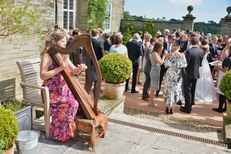 Celtic harpist Fionnuala Kirby