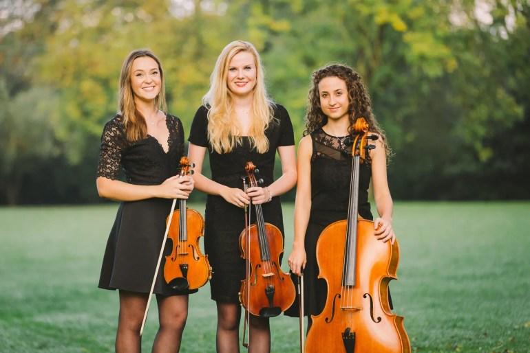Grazia Strings as a trio