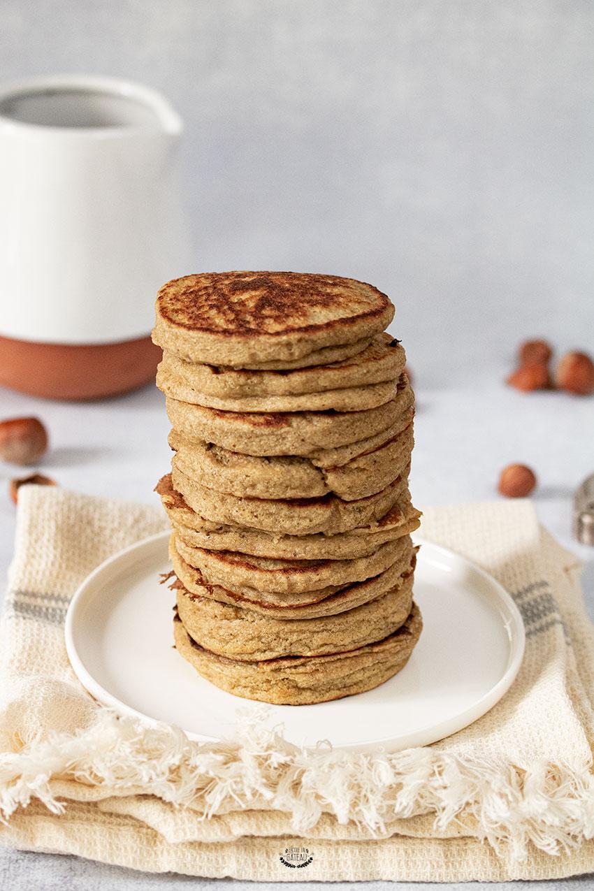 Recette Pancake Banane Flocon D Avoine : recette, pancake, banane, flocon, avoine, Pancakes, Gluten, Banane, Flocons, D'avoine