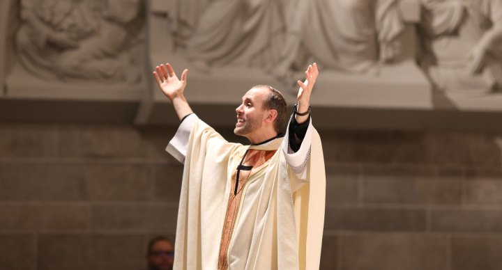 Fr. Patrick Gonyeau – Homily (The Fire of Pentecost)