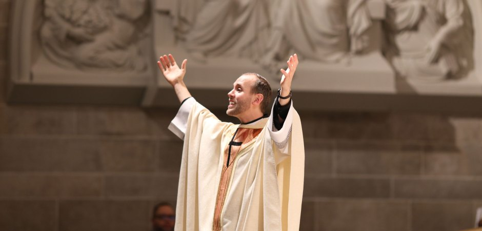 Fr. Patrick Gonyeau – Homily (Growing in the Gift of Hearing God's Voice)
