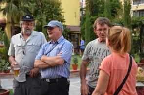 Bruce, Col, Andy Sutcliff, Maria