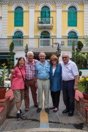 Linda Banks, John Clark, Martin and Nancy Watkinson, Ian Way