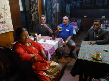 Bishn Maya Bogati (Didi), William, Brian and Shivaram Bogati