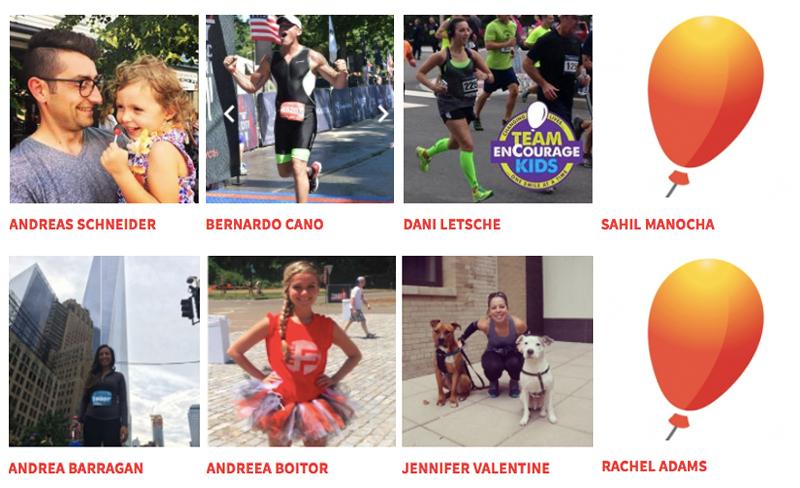 Team enCourage Kids Marathon Runners 2017