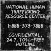 human trafficking resource center