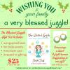 blessed juggle christmas set