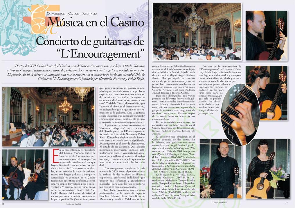"""XVI Ciclo Musical """"Jóvenes Intérpretes"""""""