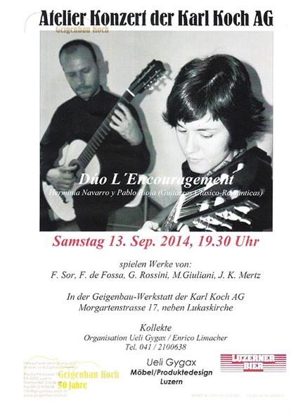 Atelier Geigenbau Kari Koch, Luzern (Suiza)
