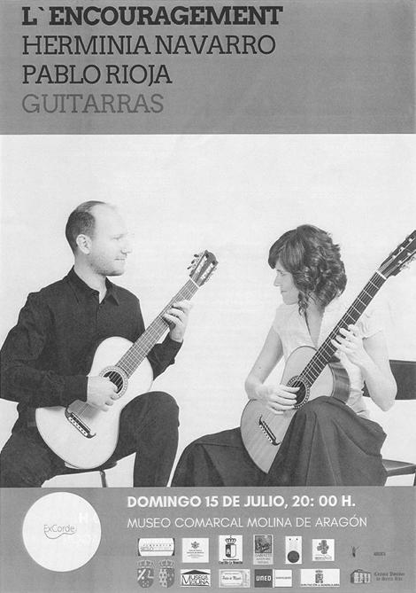 "VI Festival Internacional de Guitarra ""Ex Corde"", Molina de Aragón (Guadalajara)"