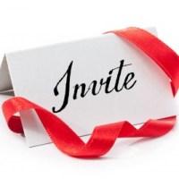 Encouraging Words: Invite