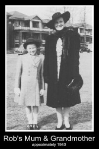 Mary and Marjorie 1940