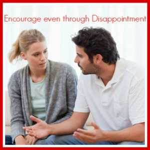 encourage even through disappointment FB