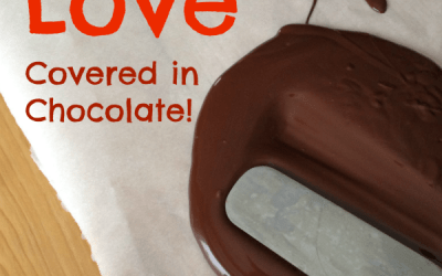 All The Love Languages Covered with Chocolate