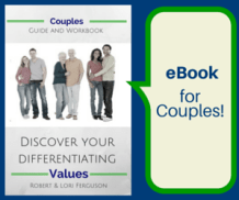 ad - Discover your differentiating values for couples - a guide and workbook