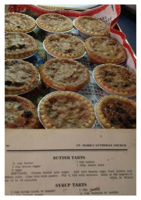 Butter Tart Recipe taste of childhood
