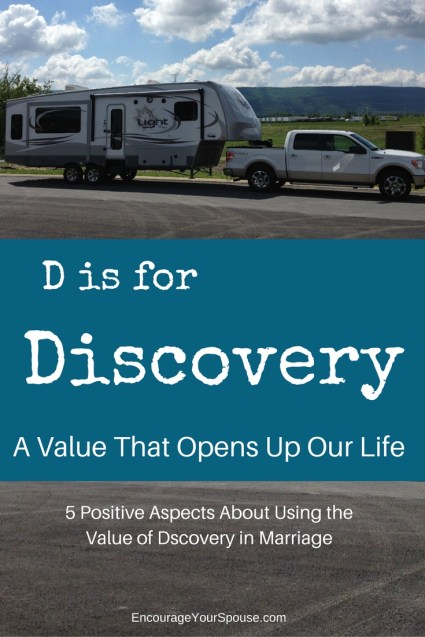 The Value of Discovery - 5 Positive Aspects that Open Up Our Life - Discovery in Marriage
