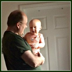 happy friday - Theo and Grandpa have a conversation