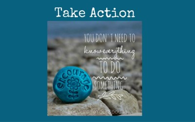 Take Action to Encourage