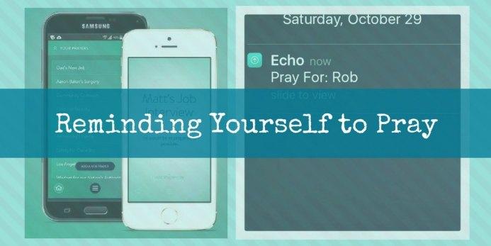 failure into fun - reminding yourself to pray