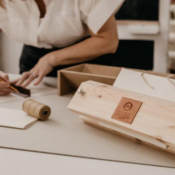 prensa para encuadernaciones artesanales
