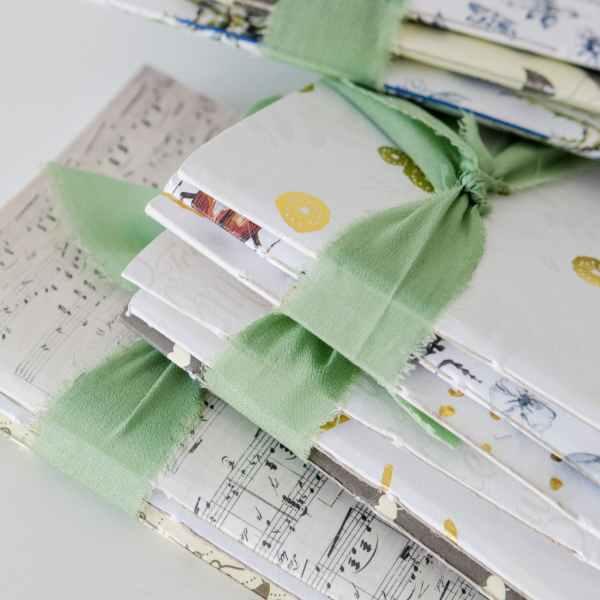 cuadernillos de notas interiores