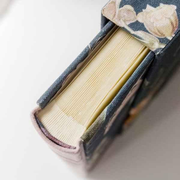álbum de fotos tipo bradel con caja