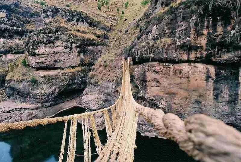 qeswachaka bridge