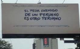 El peor enemigo de un peruano